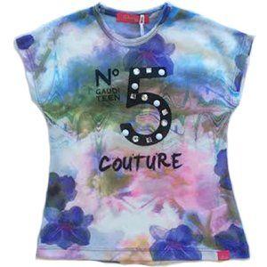 Gaudi Little Girl's Tee Shirt No5 Multi Size